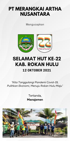 PT Merangkai Artha Nusantara - Ucapan HUT Kabupaten Rokan Hulu