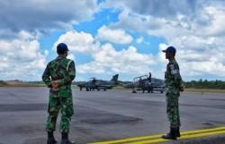 2 Pesawat Tempur Skadron Udara 12 Siaga di Lanud RHF Tanjungpinang