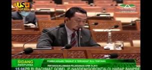 312 Konflik Lahan di Riau Dilaporkan Syahrul Aidi di Sidang DPR