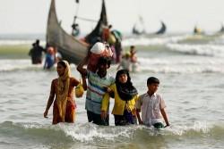 34 Perempuan dan Anak Rohingya Terdampar di Pantai Malaysia, Diduga Diturunkan oleh Pedagang Manusia