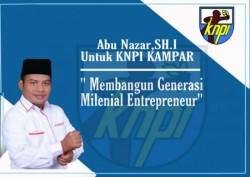 Abu Nazar Pimpin DPD KNPI Kabupaten KamparVersi Noer Fajriansyah