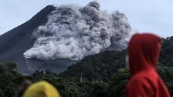 Ada 22 Kali Awan Panas Guguran Meluncur Dari Gunung Merapi