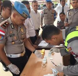 Antisipasi Polisi Terlibat Narkoba, Personel Polres Bintan Dicek Urine