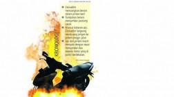 Api Puntung Rokok Sambar Jeriken Dua Sepmor Terbakar