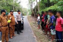 Balap Liar, Belasan Pelajar SMP Bintan Timur Diamankan