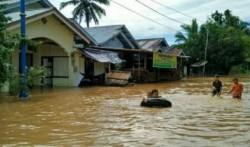 Banjir Landa Kuansing, 4.578 Rumah Terendam