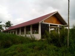 Baru Siap Dibangun Tahun 2018, TPI di Desa Muara Siberut Mentawai Sudah Ditumbuhi Rumput