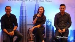 BERITA FOTO Gratis Layanan XL PRIO Pass Selama di Malaysia dan Singapura bagi Warga Medan dan Batam