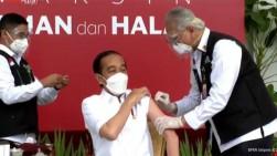 Besok, Jokowi Terima Suntikan Vaksin Covid-19 Kedua