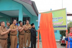 Buka Unit Usaha Air Mineral Kemasan, Sekda Apresiasi Inovasi BUMDes Sumber Rejeki Desa Rantau Sakti