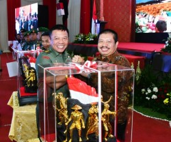 Bupati Bengkalis Terima Penghargaan Dari Panglima TNI
