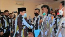 Bupati dan Sekdakab Rohul Hadiri Pelantikan DPD IPK Rohul
