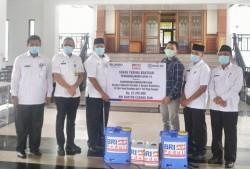 Bupati Siak Terima Bantuan Bank BRI Untuk Penanganan Covid-19