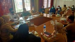 Camat Rahma Pimpin Rapat Persiapan MTQ Tingkat Kelurahan & Kecamatan Sukajadi Tahun 2021