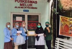 DIAVO dan IPPKI Riau Salurkan APD Kepada 20 Puskesmas di Pekanbaru