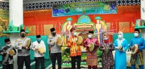Dihadiri Kapolresta, Wawako Pekanbaru Doakan MTQ Kelurahan Cinta Raja Maju Hingga Tingkat Nasional
