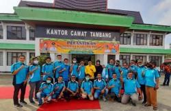 Dilantik Jadi Ketua Karang Taruna Tambang, Hendri Kampay Gesa Pembentukan Karang Taruna Desa