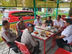 Ditpolairud Polda Riau MoU Dengan Dispersip Pekanbaru Kampanyekan Program Gemar Membaca