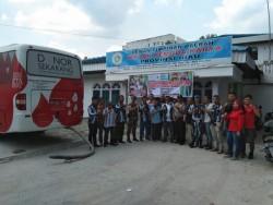 DPD IPK Riau Gelar Donor Darah Menjamin Ketersediaan Stok Darah Bagi Masyarakat