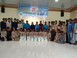 DPD KNPI Kampar Gelar Jumat Berkah, Berbagi Sembako Dengan Anak Panti Asuhan