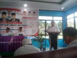 DPD Minta DPC Gerindra Kampar untuk Segera Membuat Sayap