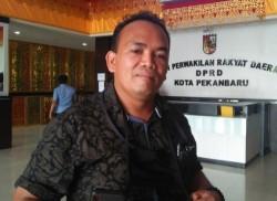 DPRD Menolak Jika Pemko Pekanbaru Tetap Swastanisasi Pasar Cik Puan