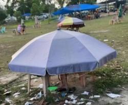 DPRD Pekanbaru Desak Satpol PP Tertibkan Payung Ceper di Satadion Utama Riau