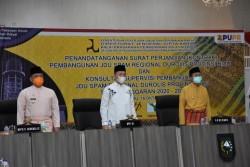 Durolis Resmi Dibangun, Syahrul Aidi Dukung Pengadaan Air Bersih di Riau
