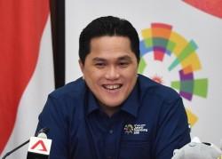 Erick Thohir Jawab Wacana Pencalonannya Sebagai Ketua PSSI
