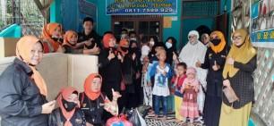 Forum Pekanbaru Kota Bertuah (FPKB) Serahkan Bantuan Ke Panti Asuhan Ar Rahman