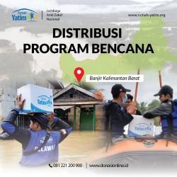 Galang Donasi Bencana, Rumah Yatim Gandeng Media Kanalsumatera.com