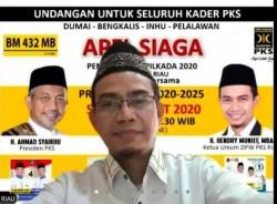 Hendry Munief: Ada 3 Kekuatan Besar PKS pada Pemenangan Pilkada 2020