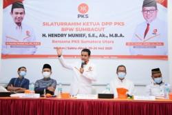 Hendry Munief Ingatkan DPW PKS Sumut Untuk Senantiasa Melayani Rakyat