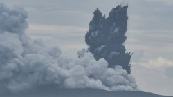 Hoax..! Status Gunung Anak Krakatau Siaga IV Alias Awas