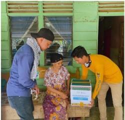 Human Intiative Riau Salurkan Program Santunan Yatim Berupa Sembako Di Beberapa Titik Provinsi Riau