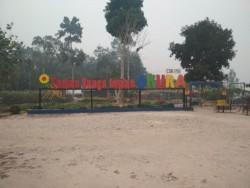 Imbas Kabut Asap, Taman Bunga Impian Minim Pengunjung