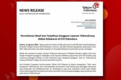 Informasi Gangguan Massal Indihome Pekanbaru