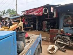 Insiden Ambulans Tabrak Bengkel di Punggur, Polisi: Belum Ada Tersangka