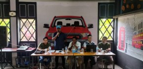 Jelang Pelantikan, PK KNPI Bina Widya Gelar Rapat Konsolidasi Pengurus