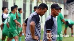 Jelang Putaran Kedua Liga 2, Gurning Benahi Lini Pertahanan PSMS yang Gampang Kebobolan