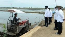 Jokowi Tinjau Lumbung Pangan dan Resmikan Bendungan di NTT
