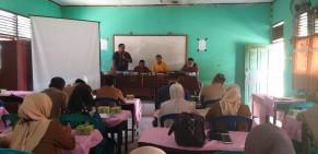 K3S Gunung Sahilan Ikuti Pelatihan Instrumen Supervisi Mutu Tahun 2020