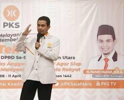 Kader PKS Sumbagut Gelar Istighosah untuk kemenangan di PSU Sumut dan Riau
