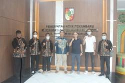 Kecamatan Pekanbaru Kota Terima Kunjungan Kerja Kecamatan Padang Selatan Kota Padang