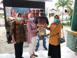 Kelurahan KTS Pekanbaru Sudah Salurkan Sembako Bagi Terdampak Corona