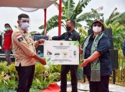 Kelurahan Tobek Godang Terima Sejumlah Bantuan dari Kementerian LHK