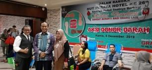 Ketua PMI Pekanbaru Apresiasi Donor DarahHotel Furaya