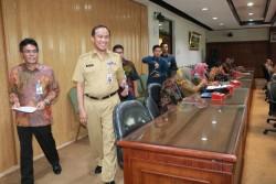 Ketua TPID Kota Pekanbaru Hadiri Penyelengaraan Capacity Building Penyusunan Laporan Kerja
