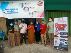 Klinik Pratama Insani Pekanbaru Launching Layanan Rapid Antigen dan Antibody, Ada Misi Sosial