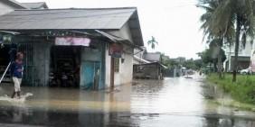 Kota Pangkalpinang Terendam Banjir
